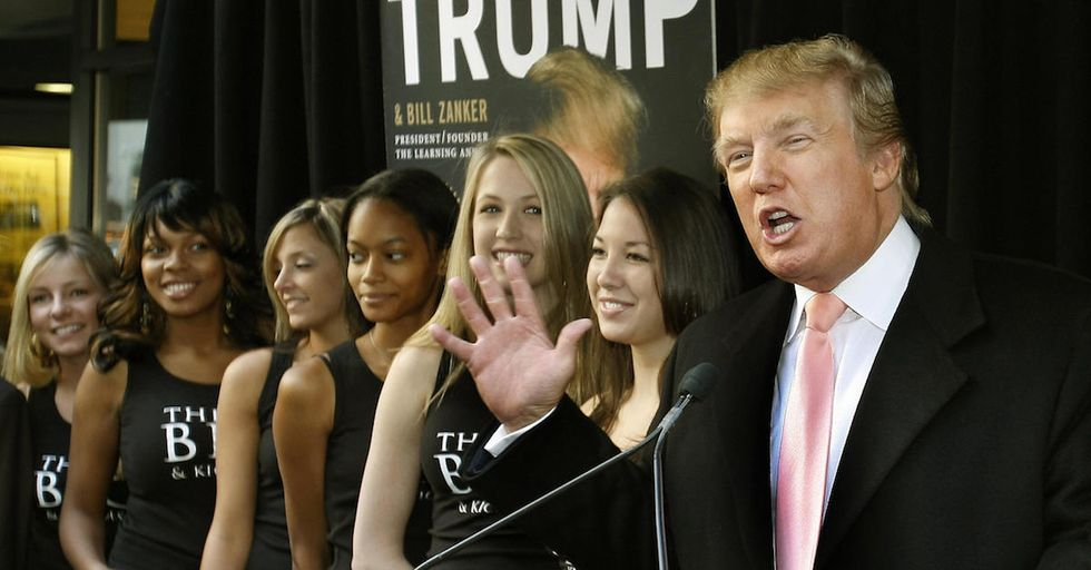 In This Newly Uncovered Video, Donald Trump Brags About Hiring a Hot Teenager with No Experience to Work as a Waitress