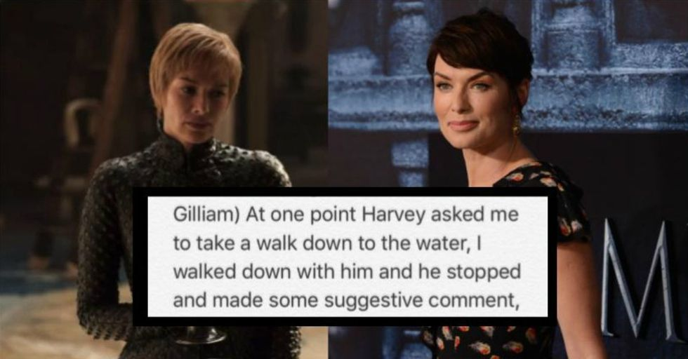 'Game of Thrones' Star Lena Headey Says Harvey Weinstein Sexually Harassed Her in an Elevator — This Is What Happened When She Rejected Him