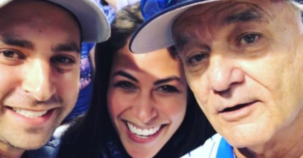 Bill Murray Made This Couple's Parents Cry for the Most Heartwarming Reason