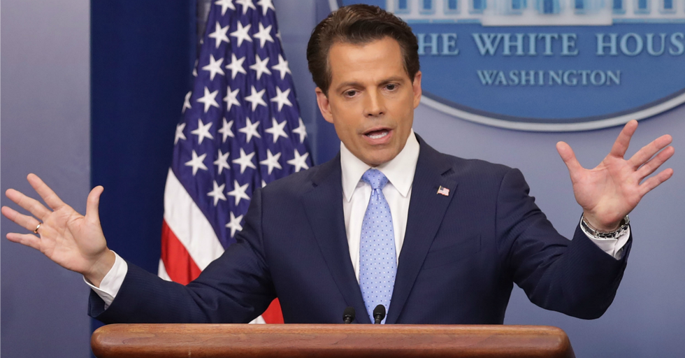 Former Trump Staffer 'the Mooch' Just Posted This Bizarre Poll About the Holocaust — and It Did Not Go Well