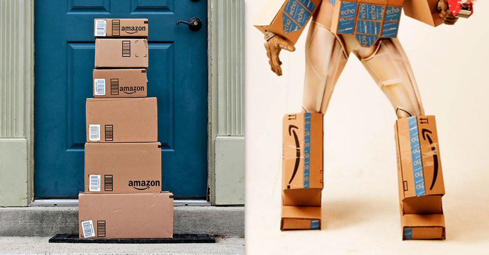 This Woman's Clever Amazon Prime Costume Just Won Halloween
