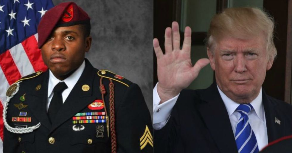 This Grieving Military Dad Is Learning to Use Twitter so That He Can Say THIS to Trump