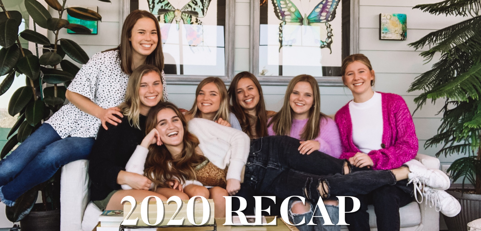 recap of 2020 and all its madness