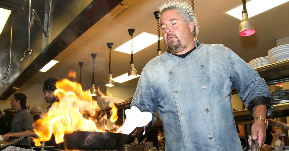Guy Fieri Donated Food to Sonoma Fire Victims — but in a Bizarre Twist, People Are Furious at Him for It