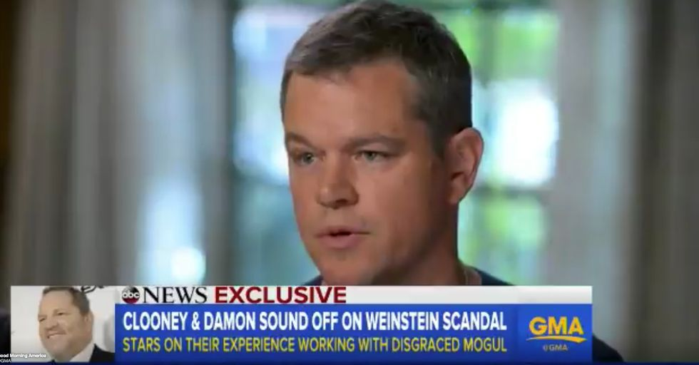 Did Matt Damon Just Let It Slip That He Knew Gwyneth Paltrow Was Being Harassed by Harvey Weinstein All Along?