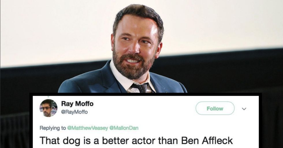 Ben Affleck Just Rescued a Stray Dog, but Was It Nothing More Than a Cheap Publicity Stunt?