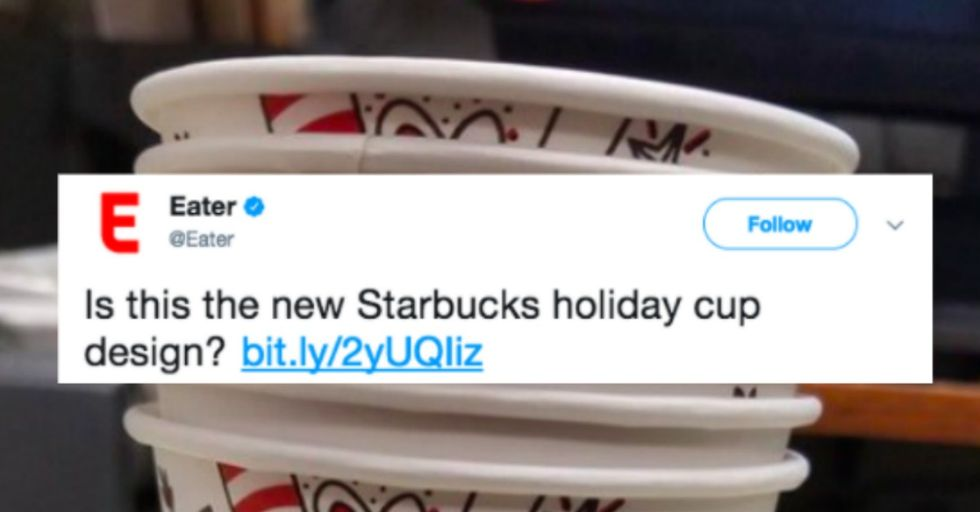 Someone Leaked the New Starbucks Holiday Cup — and You HAVE to See It