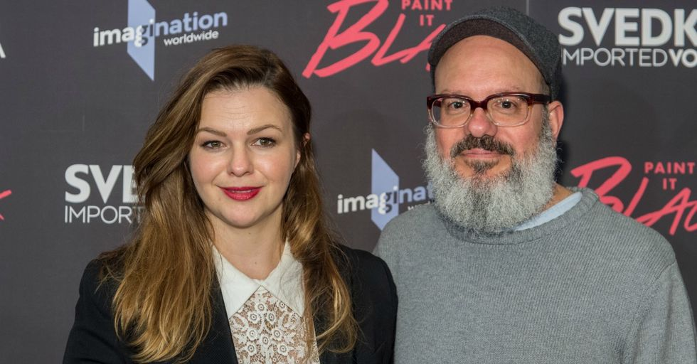Amber Tamblyn Supports the Actress Who Accused Her Husband David Cross of Racism