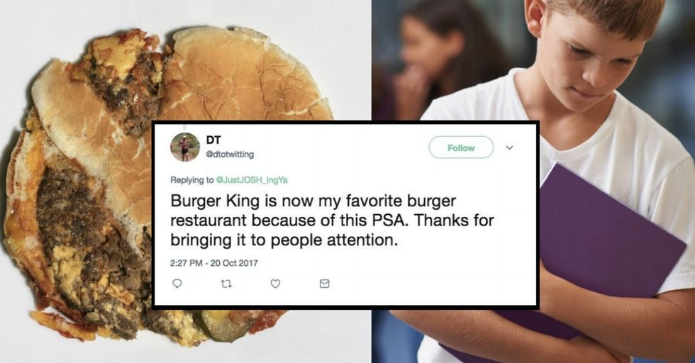 This Amazing Anti-Bullying PSA Will Make You Cry — and Surprise! It Was Made by Burger King