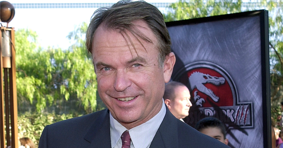 The Internet Can't Handle 'Jurassic Park' Star Sam Neill's Hilarious Coincidence