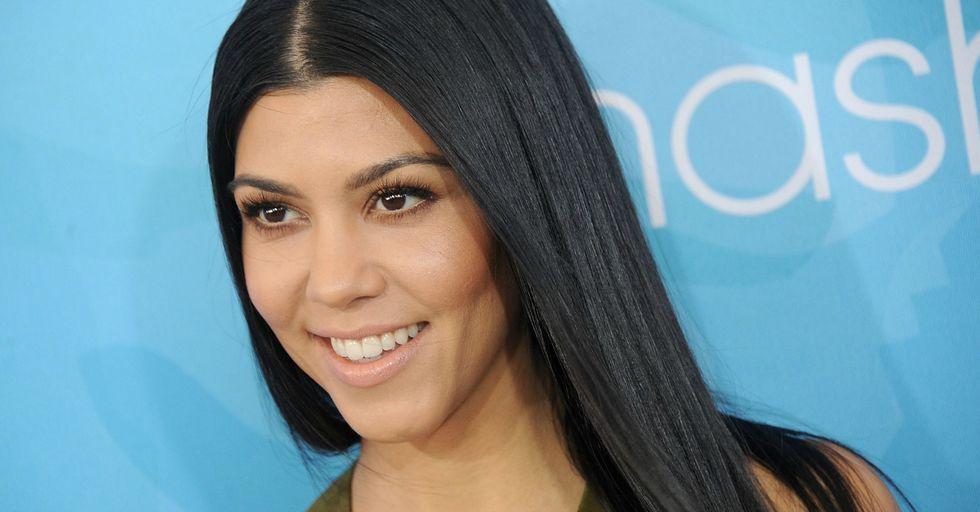 Kourtney Kardashian Speaks out About Pregnancy Rumors