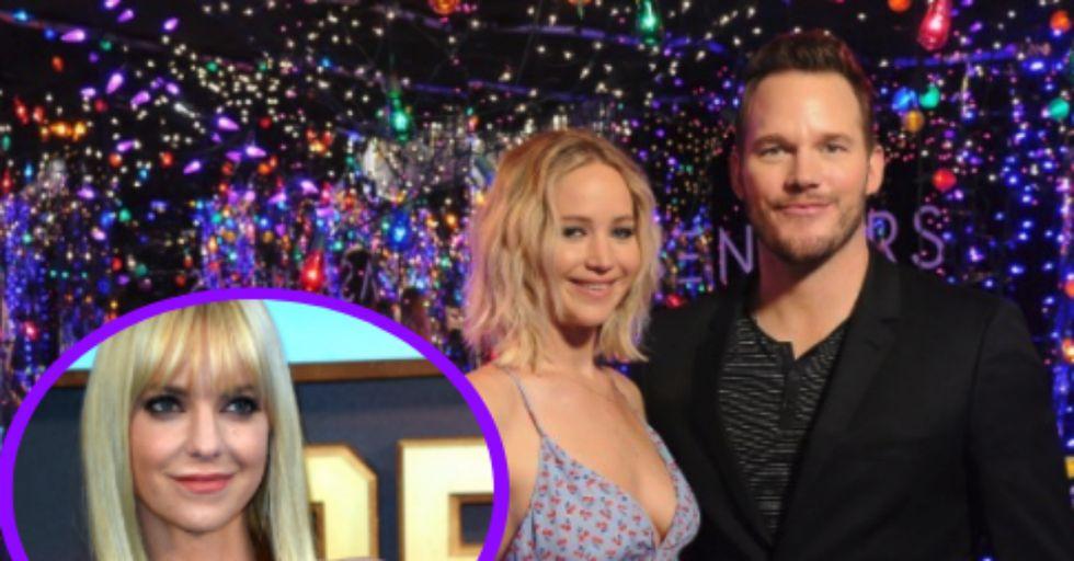 Anna Faris Breaks Her Silence on Those Jennifer Lawrence-Chris Pratt Rumors