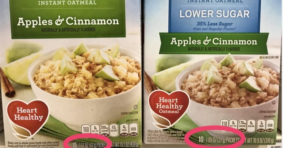 People Are Furious That Quaker Is Lying to Us About Reduced Sugar in Oatmeal