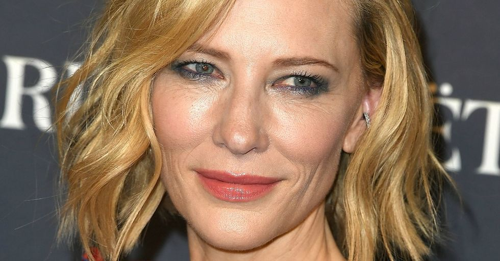 Cate Blanchett Had the Most Savage Response to Sexual Predators Like Harvey Weinstein at the InStyle Awards