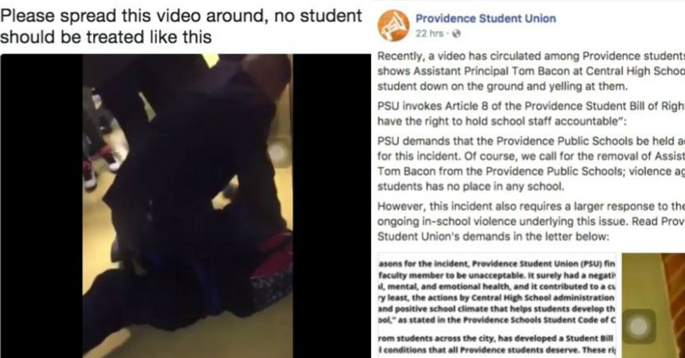 This Principal Did Something Awful to a Student — and Now He's Being Forced to Resign