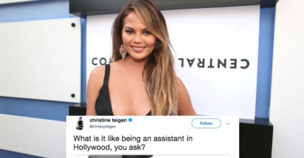 Chrissy Teigen Reveals the Dirty Truth Behind What It's Like to Be Her Assistant