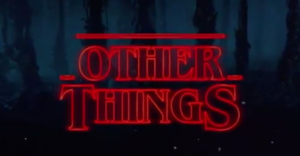 Stephen Colbert Made a Mash up Video of Trump and 'Stranger Things' That Is Both Hilarious and Terrifying