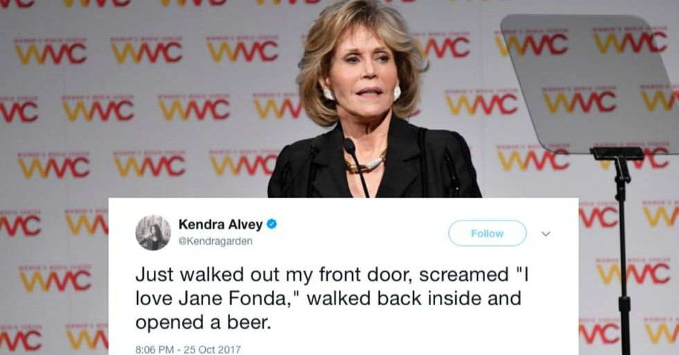 Jane Fonda Just Revealed This Brutally Honest Truth About Harvey Weinstein's Sexual Assault Victims