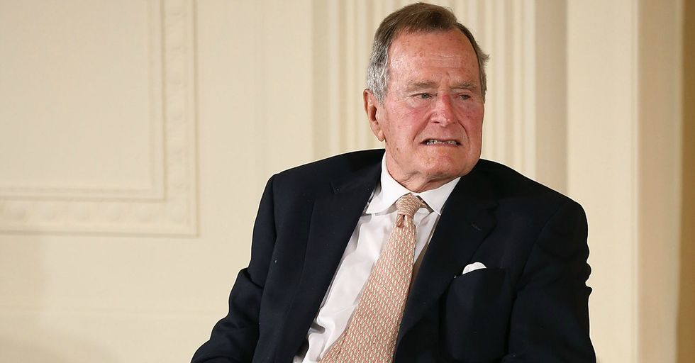 This Is the Incredibly Disgusting 'Joke' George Bush Sr. Told His Second Groping Victim