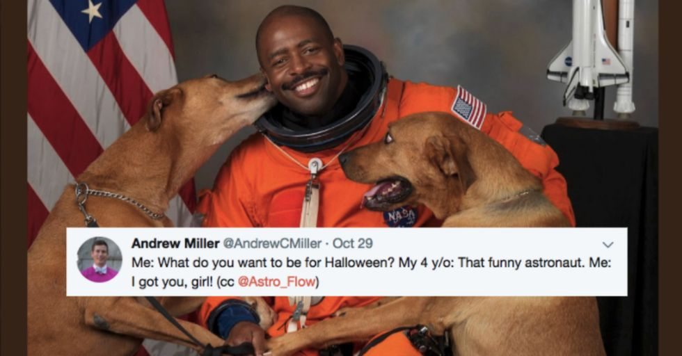 All This 4-Year-Old Girl Wanted to Be for Halloween Was This Famous NASA Photo