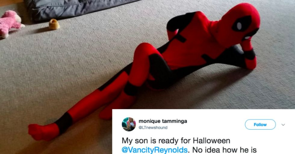 Ryan Reynolds Revealed a Disgusting Secret About His 'Deadpool' Costume Just in Time for Halloween