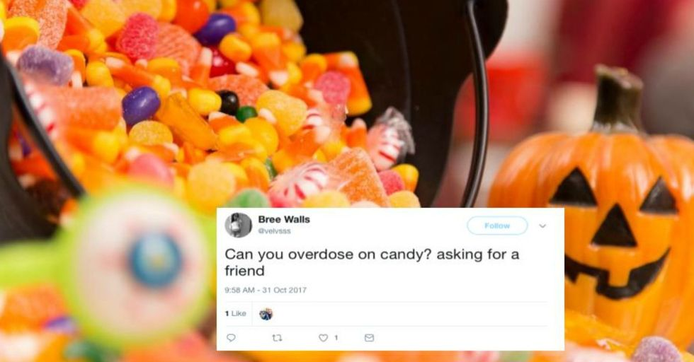 The FDA Just Said It's Possible to Overdose on THIS Kind of Dangerous Halloween Candy