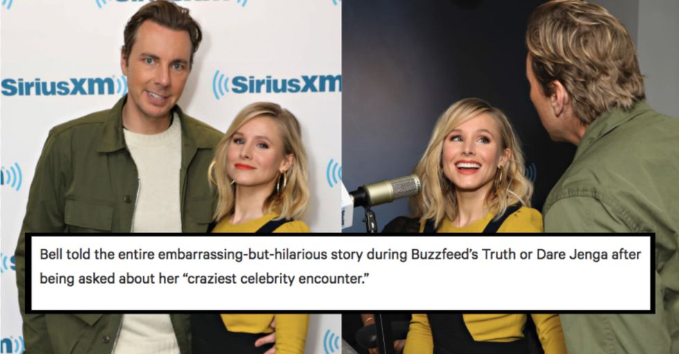 Kristen Bell and Dax Shepard Accidentally Propositioned THIS Actor to Have a Threesome With Them