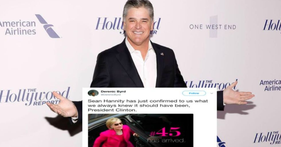 Sean Hannity Just Made a Suspicious Slip-Up During One of His Rants