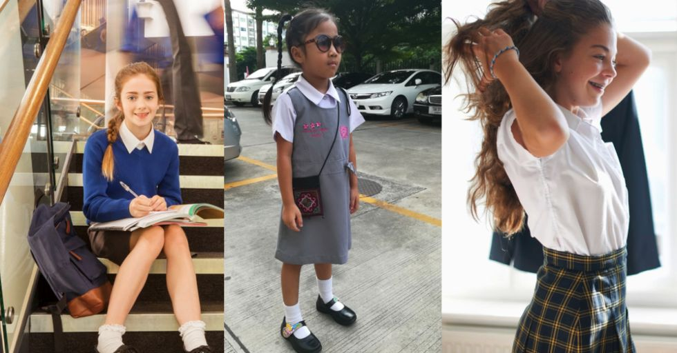 This School Told Girls Their Skirts Were 'Distracting Male Staff' — and Punished Them for It