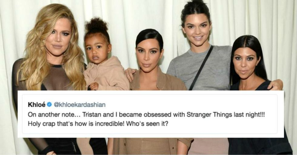 The Kardashians Just Revealed Their Obsession With This 'Stranger Things' Star