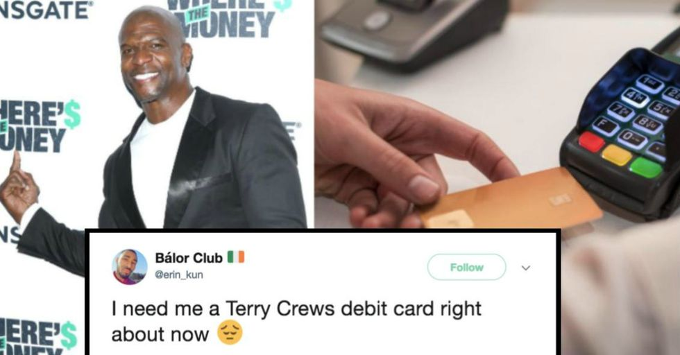 This Woman Has an Ingenious Fix to Keep Herself From Spending Too Much Money — and It Involves Actor Terry Crews