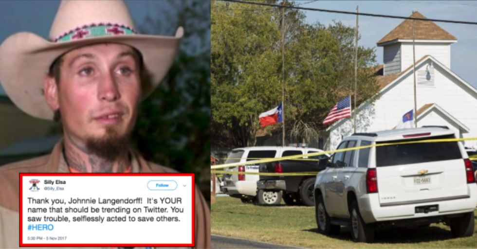 The Man Who Chased Down the Texas Shooter Is Sharing His Story