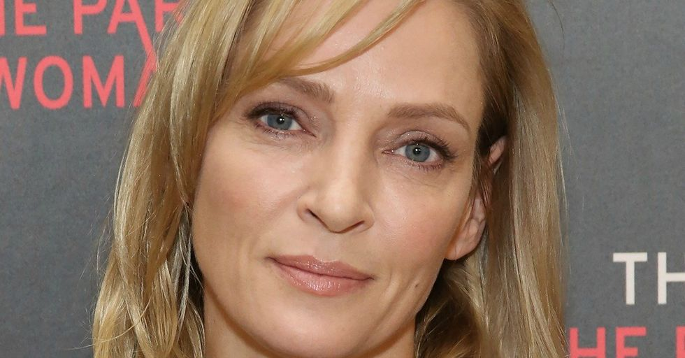 Uma Thurman Had a Chilling, Cryptic Response to the Reporter Who Asked Her About Harvey Weinstein