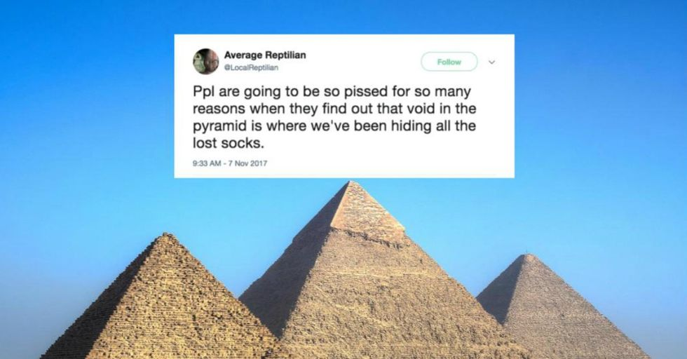 A Passenger Plane-Sized 'Void' Has Been Discovered in the Middle of the Great Pyramid of Egypt