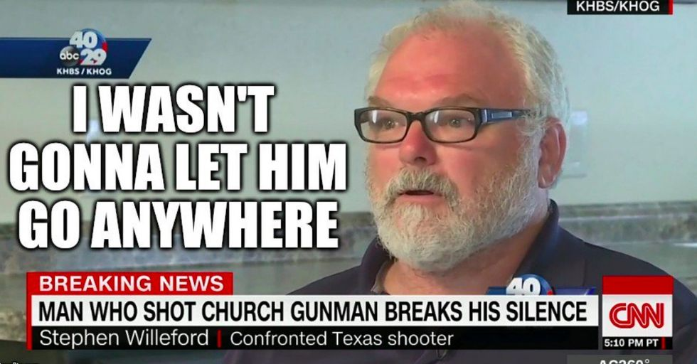 The Man Who Exchanged Gunfire With the Texas Gunman Just Came Forward to Explain What Really Happened That Day
