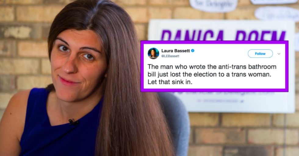 Trans Woman Had the Most Perfect Message for Homophobic Opponent After Election