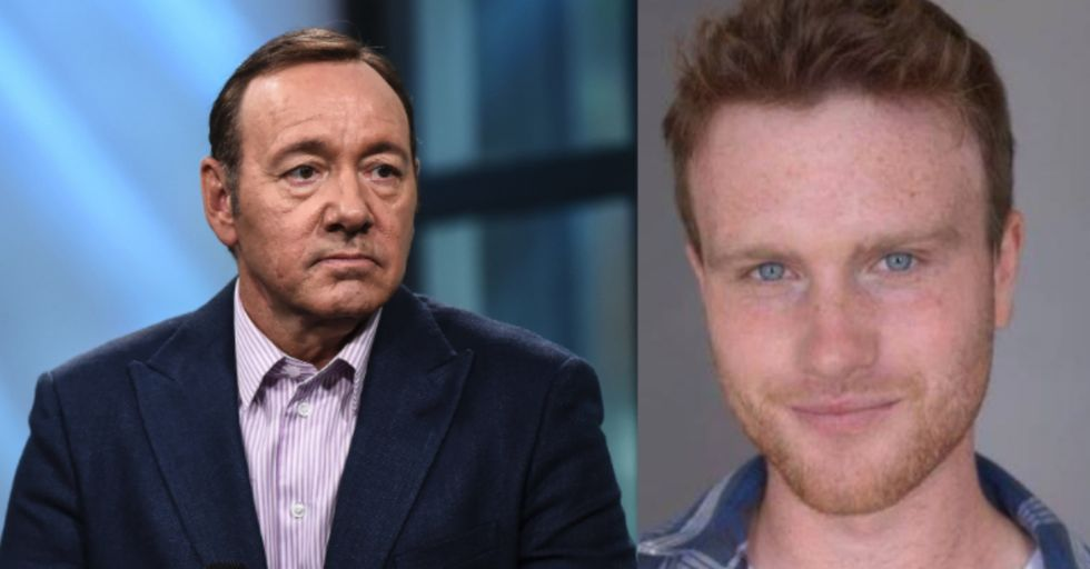 Kevin Spacey Was Just Accused of Groping Another Famous Actor's 18-Year-Old Son