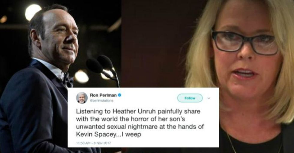 The TV Anchor Who Says Kevin Spacey Groped Her Teenage Son Is Finally Speaking Out