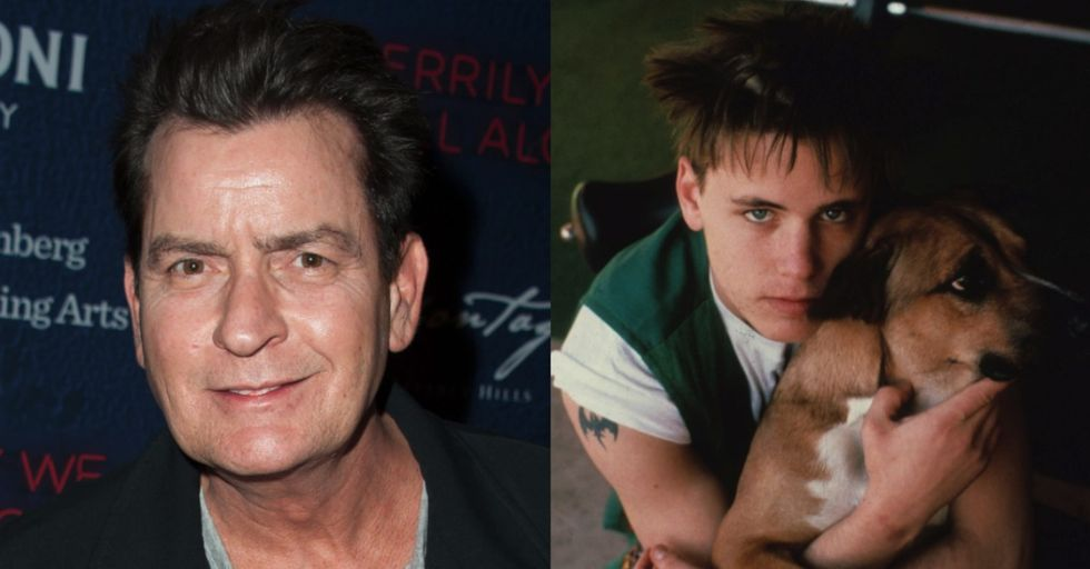 Charlie Sheen Denies Accusations of Raping Late Child Actor Corey Haim
