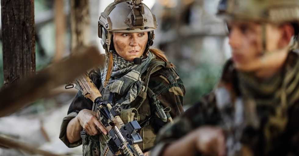 Here Is the Grueling Process This Marine Went Through to Become the First Female Infantry Officer