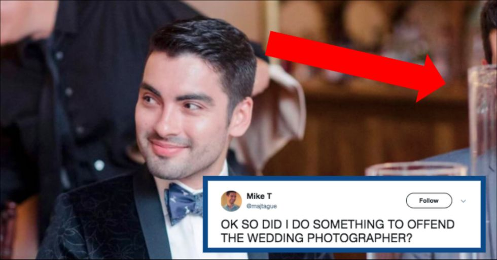 This Guy Learned an Important Lesson About What Not to Do at a Wedding