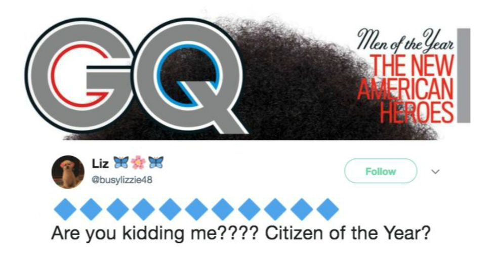 GQ Just Named This Very Controversial Figure 'Citizen of the Year'