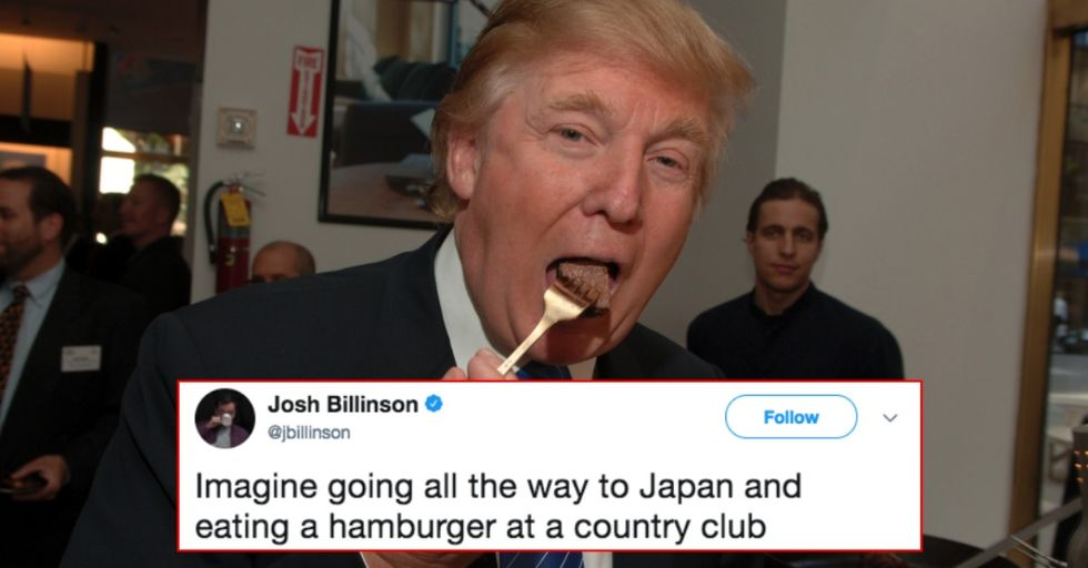Donald Trump Asked the White House Chef to Make Him This Famous Fast Food Icon's Menu Items
