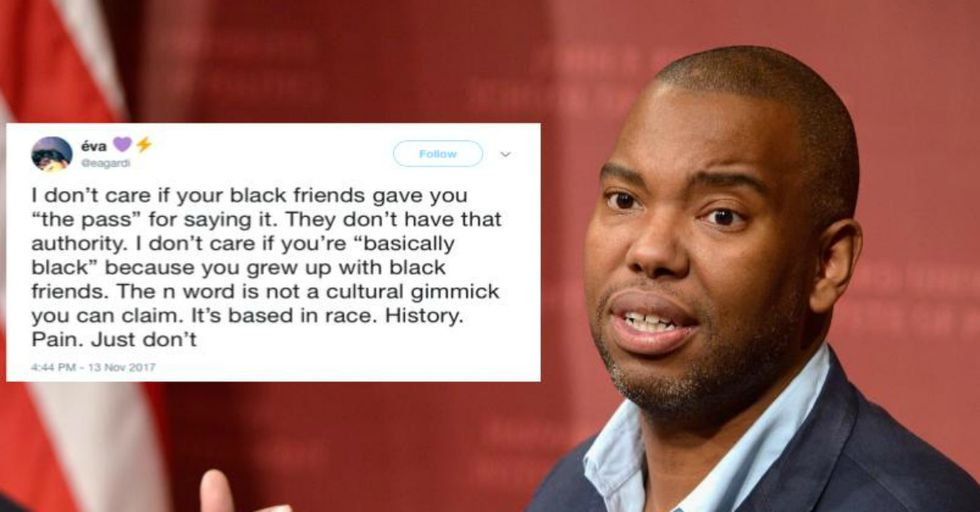 Ta-Nehisi Coates Brilliantly Explains Why White People Can Never Use the N-Word