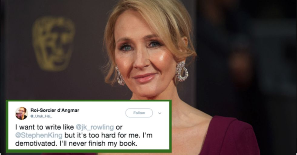 J.K. Rowling Just Gave Some Really Important Advice to a Struggling Writer That Can Benefit All of Us