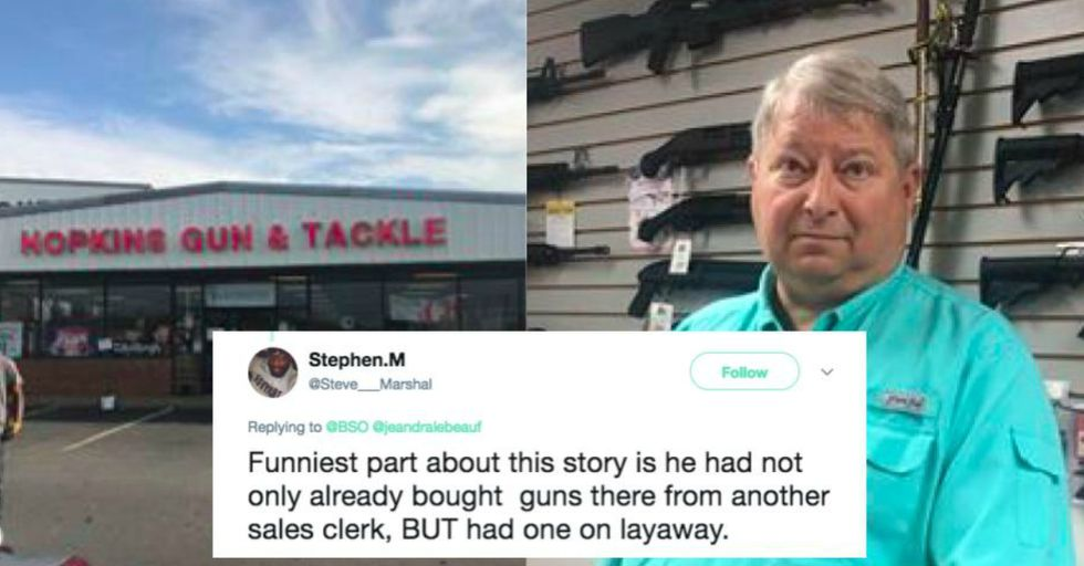 This Racist Gun Store Owner Is Refusing to Sell Firearms to This Black Customer for an Incredibly Frustrating Reason