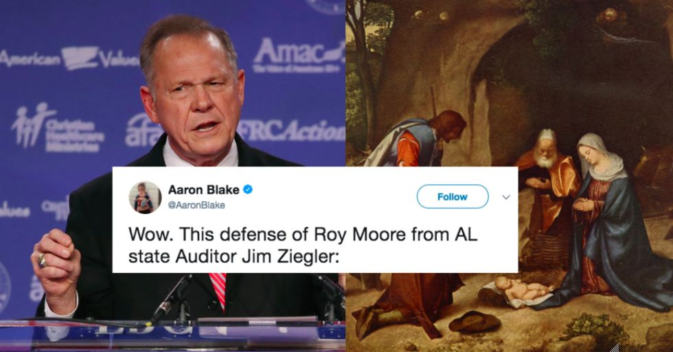 This Guy Used the Bible to Excuse Roy Moore's Child Molestation
