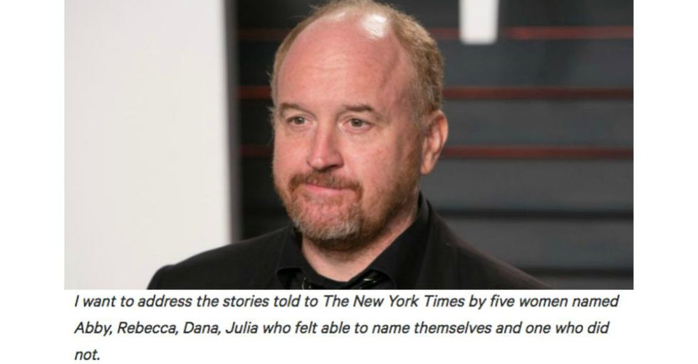 Louis C.K. Admits He Sexually Assaulted Five Women in a Shocking New Statement