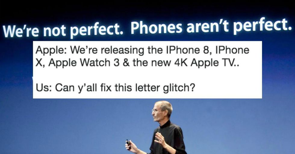 "Here's How to Fix the iPhone Glitch That Turns the Letter ""I"" Into Indecipherable Symbols"