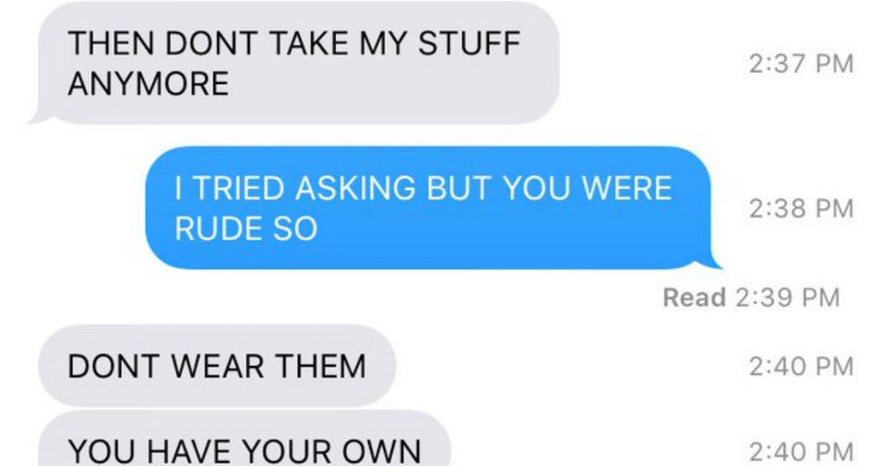 This Hysterical Text Exchange Captures the Truth of What It's Like to Have a Sister